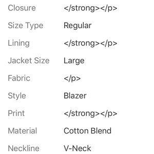 3.1 Phillip Lim for Target Suits & Blazers - 3.1 PHILLIP LIM (TARGET) DARK BLUE 2 BUTTON BLAZER
